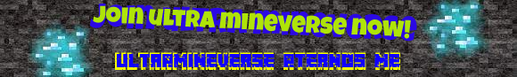 Banner for Ultra MineVerse server