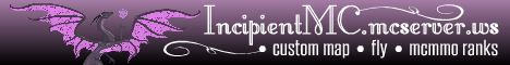 Banner for Incipient server