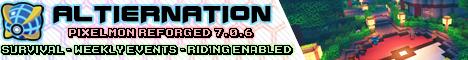 Banner for Altiernation Minecraft server