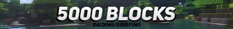 Banner for 5000Blocks server