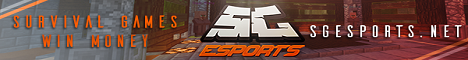 Banner for SGEsports Minecraft server