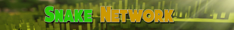 Banner for Snakenetwork Minecraft server