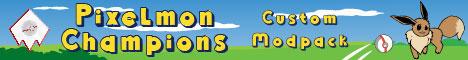 Banner for Pixelmon Champions server