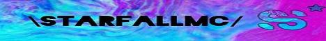 Banner for StarfallMC server