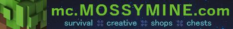 Banner for MossyMine server