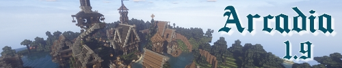 Banner for Arcadia server