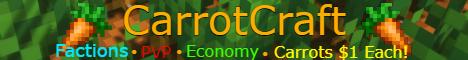 Banner for CarrotCraft server