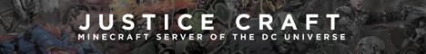 Banner for JusticeCraft server