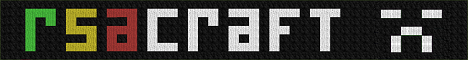 Banner for RSAcraft Minecraft server