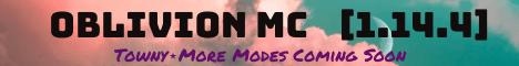 Banner for Oblivion MC server