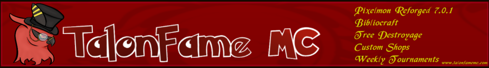 Banner for TalonfameMC server