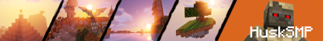 Banner for HuskSMP server