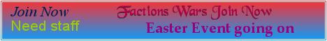 Banner for FactionWarz server