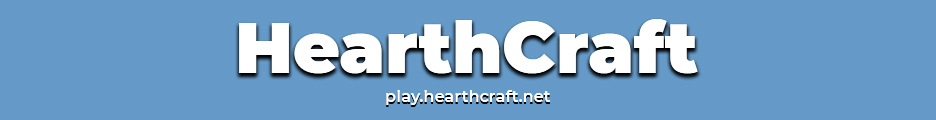 Banner for HearthCraft server
