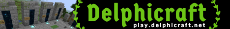 Banner for Delphicraft   SavageFactions + PVP + Survival   1.13 server