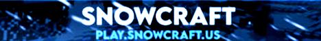 Banner for SnowCraft server