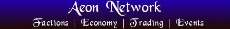 Banner for Aeon Network Minecraft server
