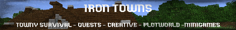 Banner for Iron Towns server
