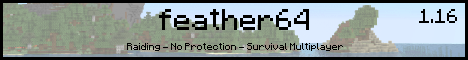 Banner for Feather64 server