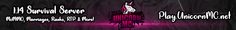 Banner for UnicornSMP server