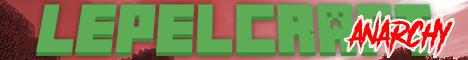 Banner for lepelcraft anarchy - cracked server
