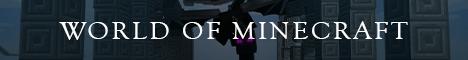 Banner for World of Minecraft server